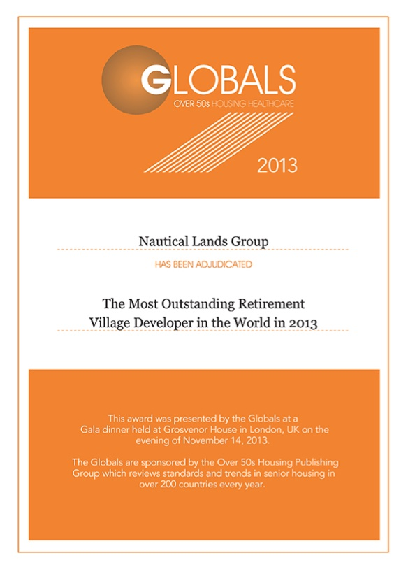 2013 Global Awards-Nautical Lands Group-1