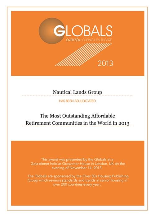 2013 Global Awards Nautical Lands Group-2