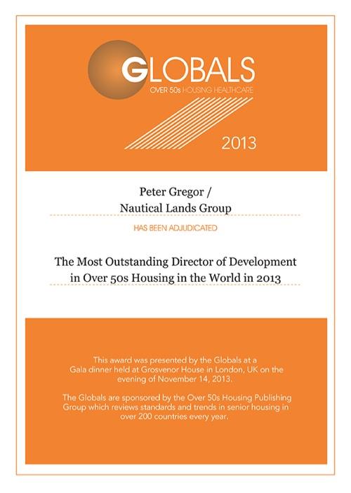 2013 Global Awards Nautical Lands Group-Peter