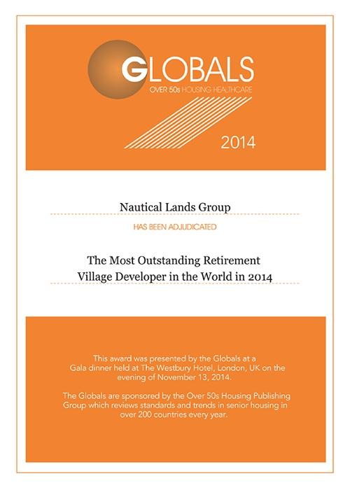 2014 Global Awards Certificates Nautical Lands Group-01