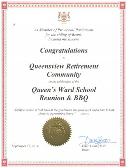 Queensview Award-2