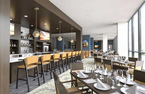 Wellings of Calgary Nourish Dining Look and Feel